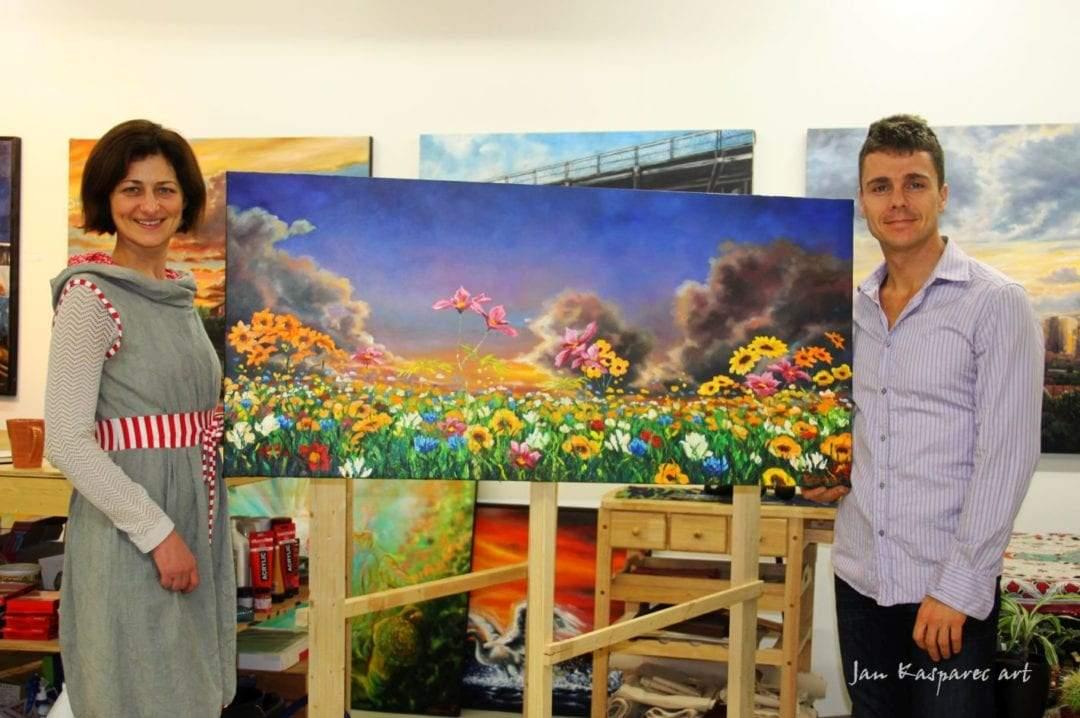 Vancouver-painting-at-Lingostar-Kasparec