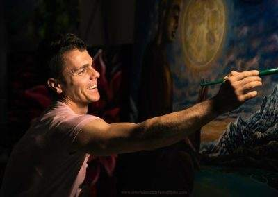 Painter Jan Kasparec in an interview with LingoStar
