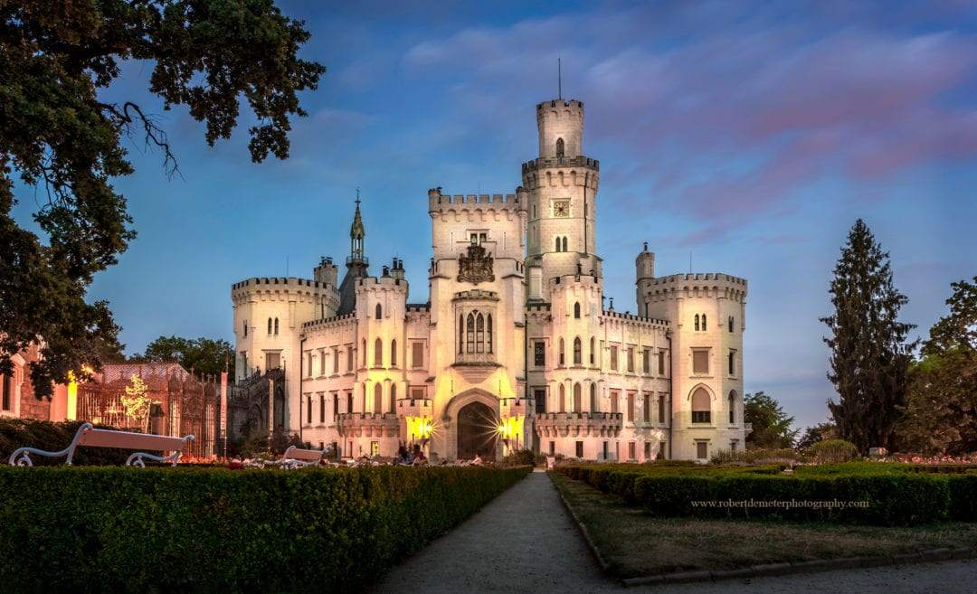 Getting married at a castle – an article in the Czech language about European castles and love