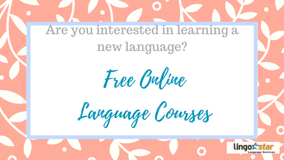 These Free Online Language Courses will make your life easier!