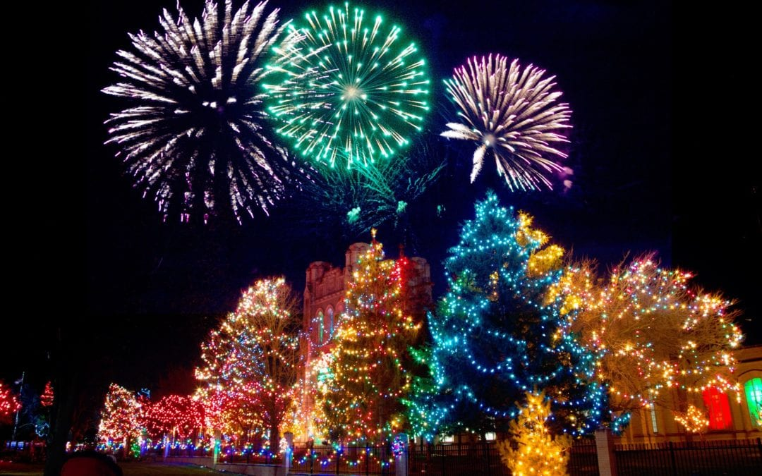Chilean Christmas and New Year's at the Southern Hemisphere