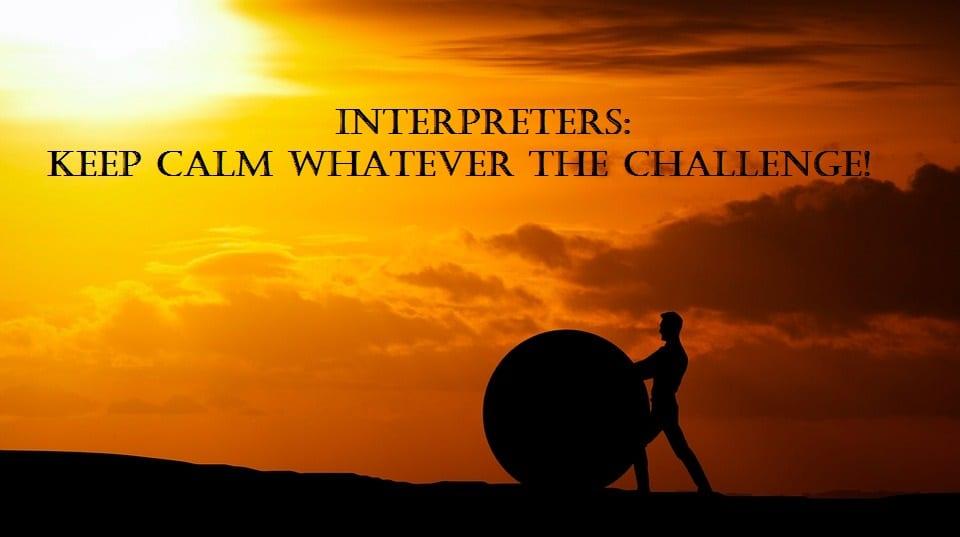 The Challenge of Interpreting