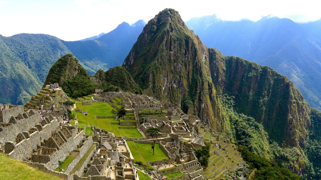 Machu Picchu in South America