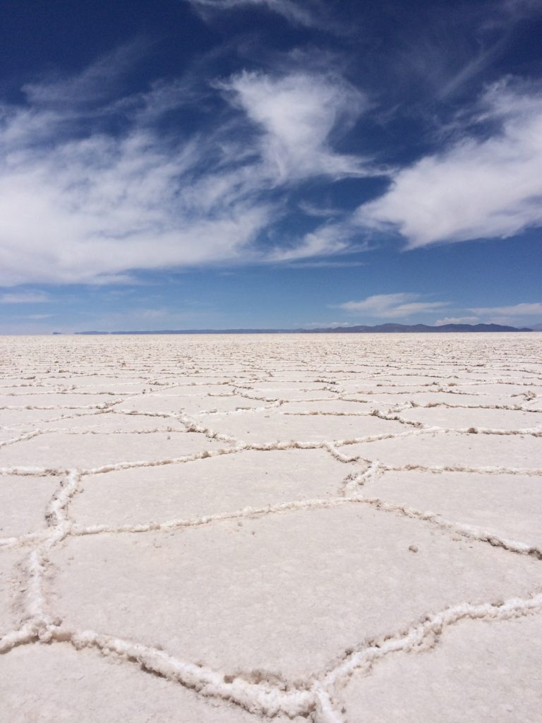 Uyuni Salt Flats in South America