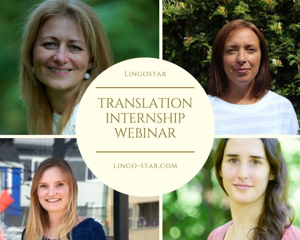 translation intership webinar