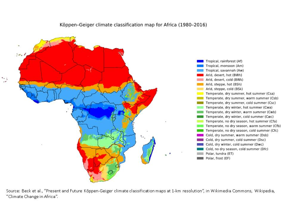 climate change africa